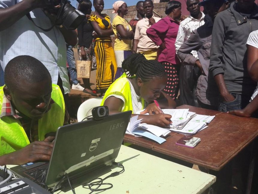 Resident With Iebc On Associations Drive Education Elections To Work Voter